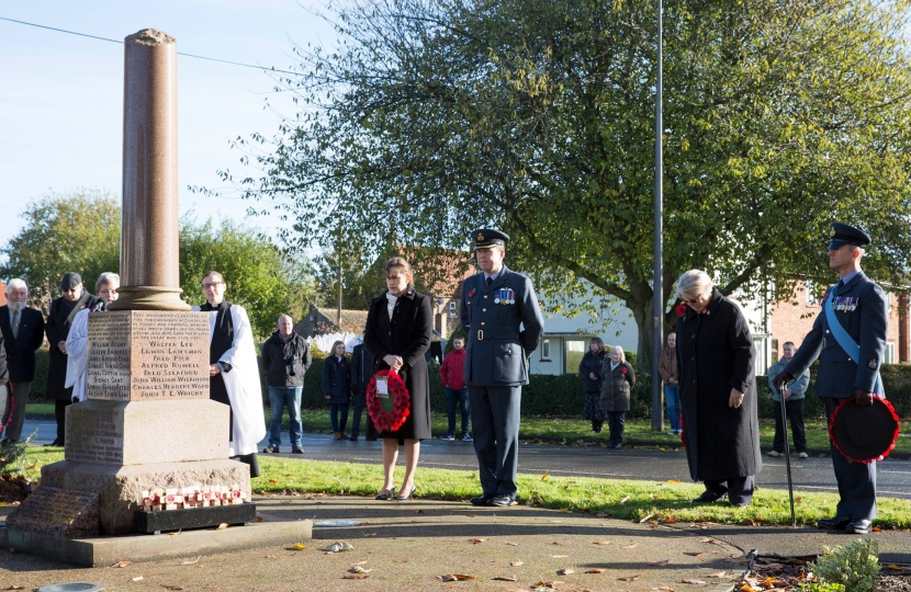 Coningsby Remembrance Sunday