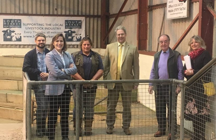 Visit to Louth Cattle Market