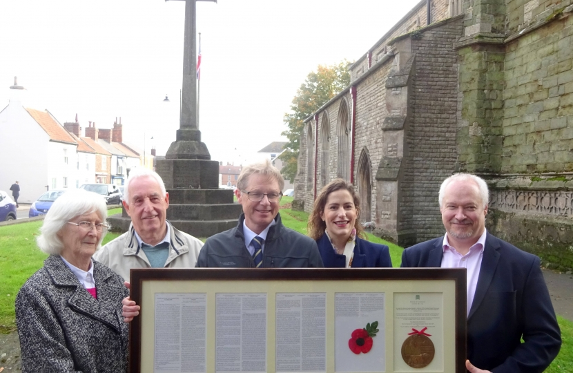 Spilsby Dead Man's Penny Ceremony 1