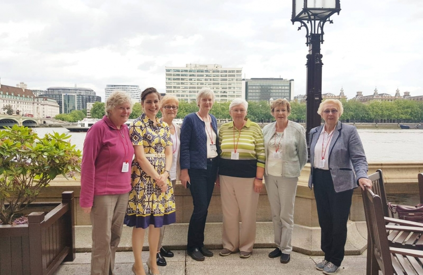 Betty Harvey WI House of Commons Terrace