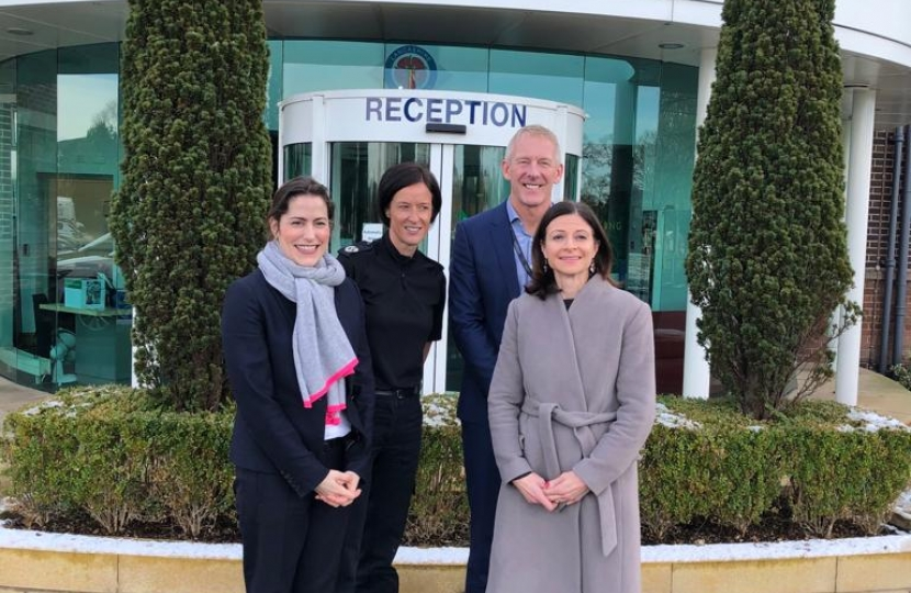 Victoria Atkins MP visits South Ribble constabulary