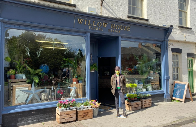 I was delighted to visit Willow House Floral Design who opened just after lockdown. Owner Jade creates amazing flower arrangements and you may have seen some of her work in Mablethorpe in Bloom last year