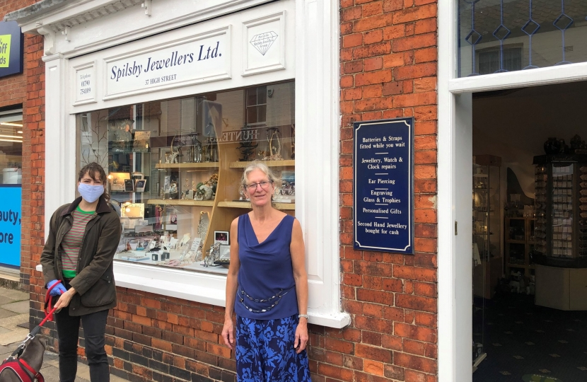 It was great to speak to Spilsby Jewellers about reopening and trade