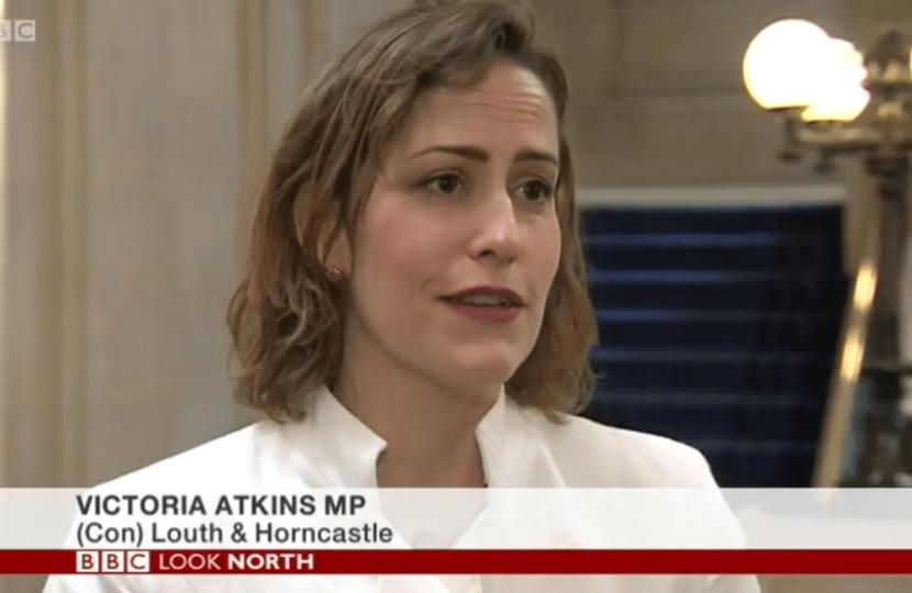 Victoria Atkins BBC Look North