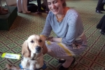 Victoria Atkins MP Guide Dogs