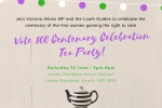 Louth Vote 100 Centenary Celebration